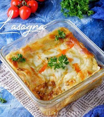 Resep Lasagna Resep Masakan Makanan Italia Resep Makanan