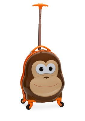 Rockland My First Luggage Monkey Luggage Spinner Suitcase One Suitcase