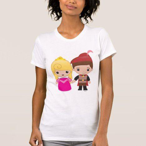 Aurora And Prince Philip Emoji 2 T Shirt Zazzle Com Disney Emoji Prince Philip Prince Philip Disney