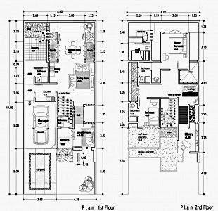 50+ contoh gambar denah rumah minimalis | desain rumah