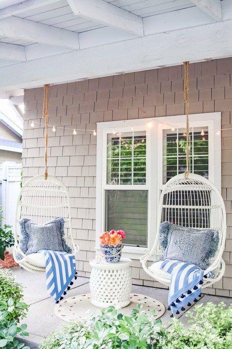 40 Awesome Patio Decoration Ideas And Design In 2020 Summer Porch Decor Spring Porch Decor Outdoor Decor