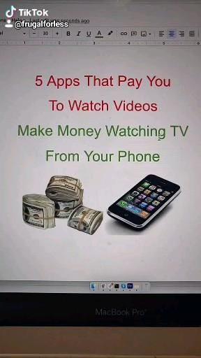 Apps That Pay You to Watch Videos