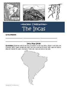 Aztec Inca Maya Unit   TpT Social Studies Lessons   Teaching