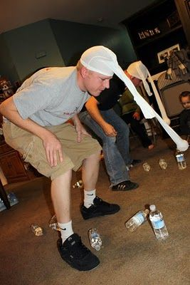 """""""minute to win it"""" family game night ideas"""