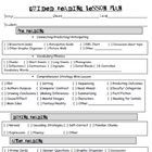 This is an guided reading lesson plan template. It is based on K-2 Common Core Standards to teach in guided reading. Makes lesson planning a breeze...