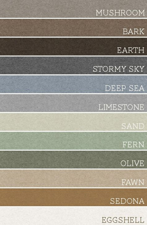 Take any set of 3 of these colors and your room can't go wrong