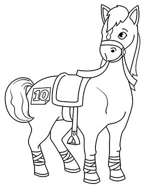 malvorlagen pferde springen | aiquruguay