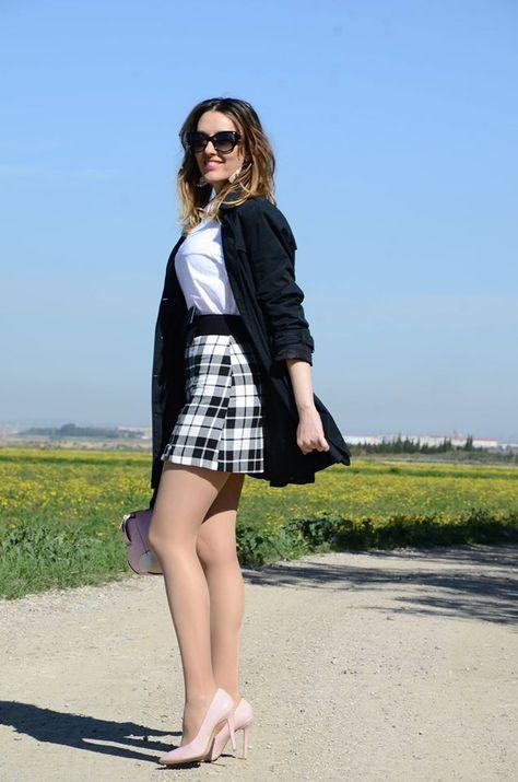 Plaid Skirt – One Use Fashion