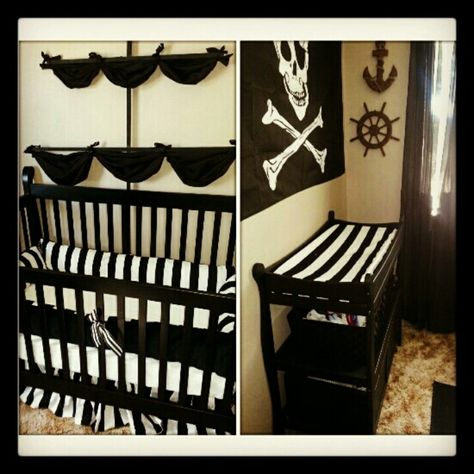 Cute, but with the teal and brown I'm doing for Nigel's pirate room.