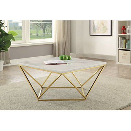 Home In 2020 Faux Marble Coffee Table Modern Coffee Tables Steel Coffee Table
