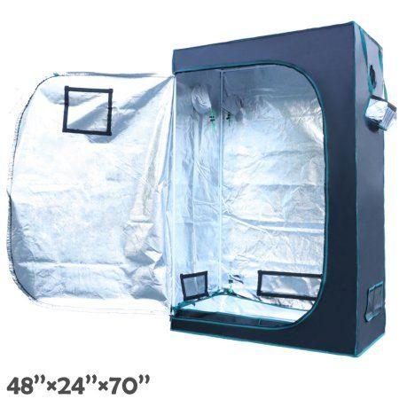 Hydroponics Grow Tent 100/% Reflective Mylar Non Toxic Indoor Room Horticulture