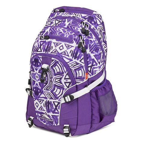 High Sierra Loop Backpack, Purple
