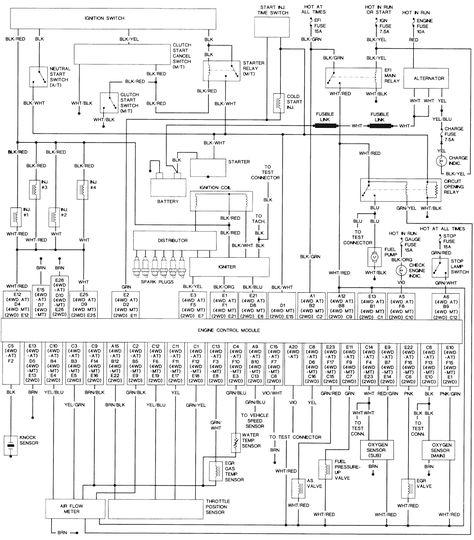 Toyota Tacoma 4 Pin Trailer Wiring Diagram