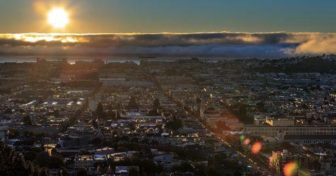 San Francisco Sunset 4k Ultra Hd Wallpaper San Francisco Sunsets San Francisco Wallpaper Beautiful Sunset