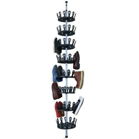 Carrousel A Chaussures Xxl 96 Chaussures Meuble De Rangement Chaussures Avec Ti Rangement Chaussures Chaussure Chaussures En Plastique