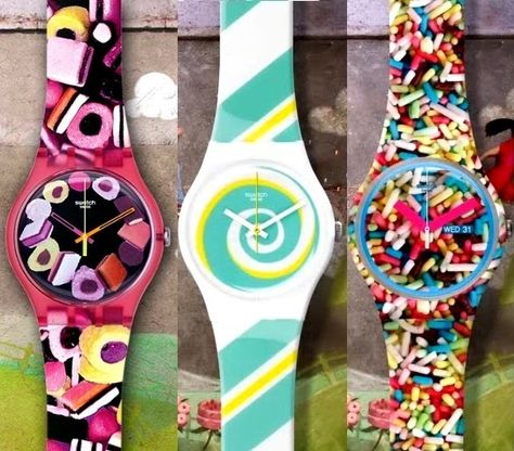Swatch Pastry Chefs Collection Launch : The Swatch Spring-Summer Pastry Chefs Collection is inspired by sweet flavors and treats from you.