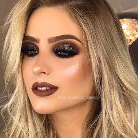 Maquiagens que combinam com vestido preto