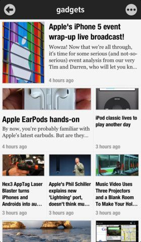 Toggle Readability More Easily In New Version Of Google Reader App Newsify Appadvice App Free Productivity Apps Productivity Apps