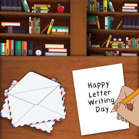 Happy #LetterWritingDay  from Saddleback Educational Publishing