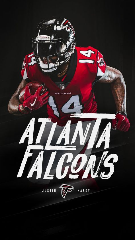 Diz2npivmaabbny 675 1 200 Pixels Atlanta Falcons Wallpaper Nfl Football Art