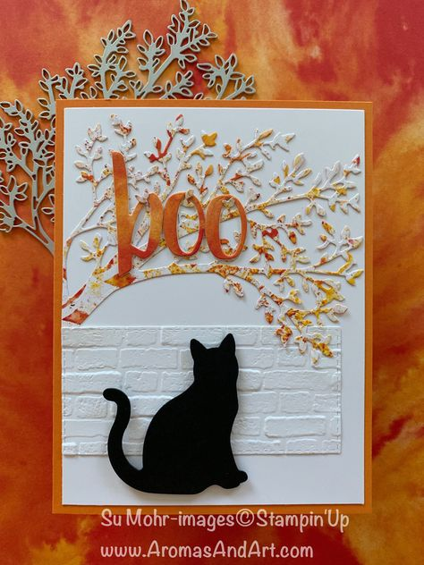 """""""Boo-ti-ful"""" Halloween Card Cat's """"boo-ti-ful"""" Halloween card.Cat's """"boo-ti-ful"""" Halloween card. Atc Cards, Cricut Cards, Penny Black, Holiday Cards, Christmas Cards, Handmade Thanksgiving Cards, Greeting Cards Handmade, Handmade Fall Cards, Handmade Halloween Cards"""