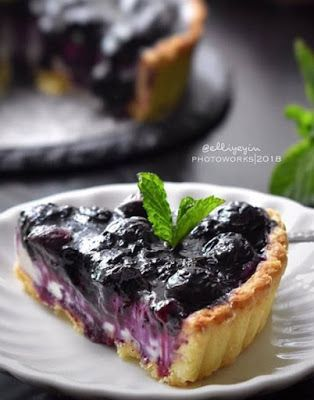 Blueberry Cheese Pie Di 2020 Pai Resep Pai Ide Makanan