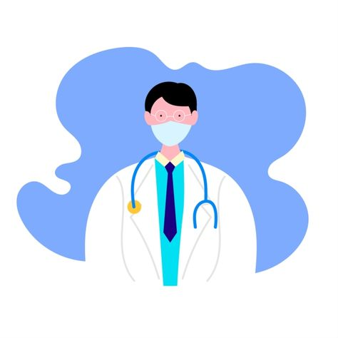Vector Illustration Doctor Isolated On White Background Doctor Icons White Icons Background Icons Png And Vector With Transparent Background For Free Downloa Vector Illustration People Vector Illustration Illustration
