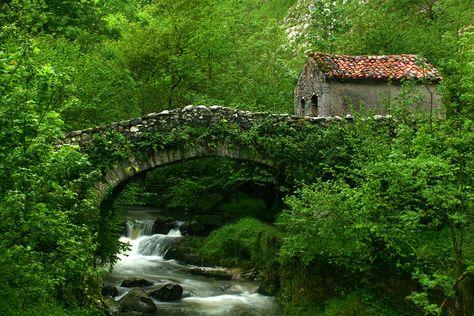 Puente de Tielve Asturias