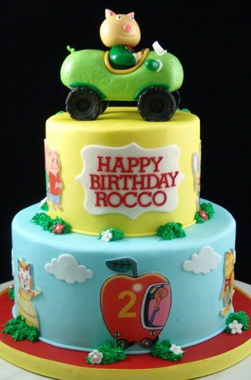 Richard Scarry Themed Birthday Cake Queen Cakes Cake Custom Birthday Cakes