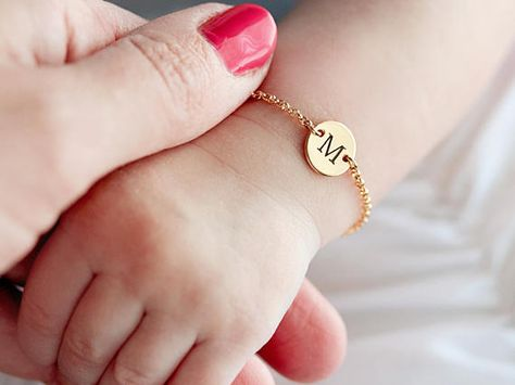 Baby Bracelet / Baby Jewelry / Name Bracelet / Baby Shower Gift ……………………………………………………………………… Our Personalized Baby Bracelets are a perfect gift for new mamas, baby showers, and welcome home baby gifts! Handmade with sterling silver, Source by karlsbl