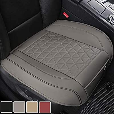Amazon Com Black Panther Luxury Pu Leather Car Seat Cover Protector For Front Seat Bottom Compatible With Leather Car Seats Leather Car Seat Covers Car Seats