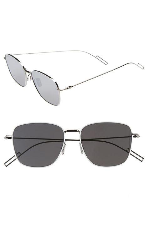 4b68908f2afa Men's Dior 'Composit 1.1S' 54Mm Metal Sunglasses - Palladium/ Grey Silver  Mirror