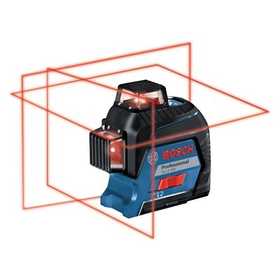Bosch Laser Level Gll3 300 360 Deg Three Plane Leveling And Alignment Line Laser With Images Laser Levels
