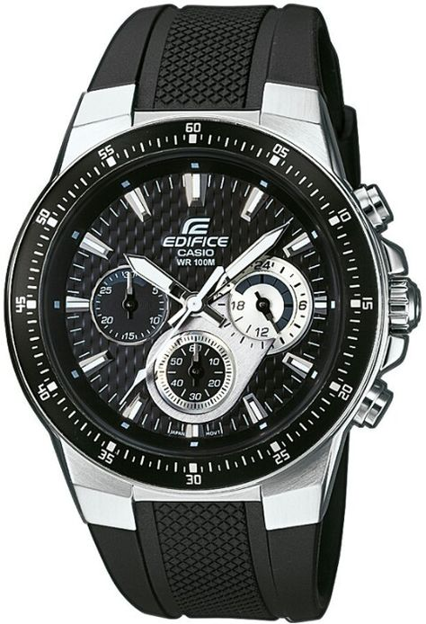 e4ff8cad98e3 CASIO EDIFICE WATCHE´s Casio WR 100m standar steel stop watch orginal price  160  in india.
