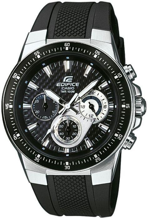 163722e92bdf CASIO EDIFICE WATCHE´s Casio WR 100m standar steel stop watch orginal price  160  in india.