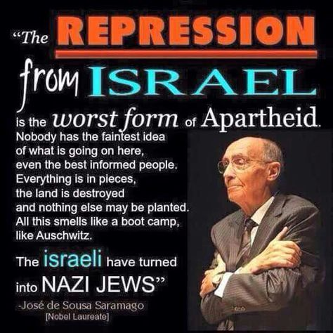Really think about what this statement says. Wake up people, Israel needs to be…