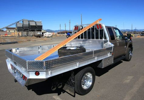 This pictures show a lumber stop on one of our aluminum truck flatbeds. See more at highwayproducts.com