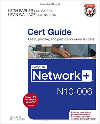 Comptia Cloud Certification Study Guide 789754088 Comptia Network N10 006 Cert Guide Exam Success