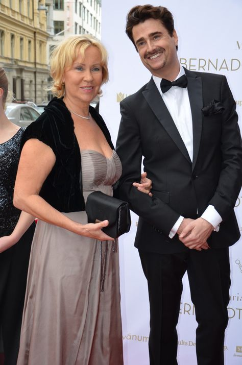 7 juni 2012 Agnetha at Bernadotte's Art Awards !