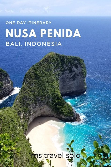 Do you like pristine beaches and gorgeous coastlines? Then you must explore Nusa Penida while you are in Bali, Indonesia. See t-rex coastline and the best beaches. Check out my blog on how you can explore Nusa Penida near Bali, Indonesia in one day! Don't forget to pin it on your Pinterest board! #bali #baliindonesia #nusapenida #explorenusapenida #onedaytrip #onedaytour #mstravelsolo