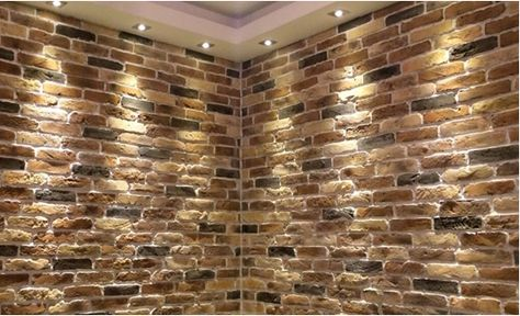 Stunning Blend Of Rustic Brick Slips Perfect For Feature