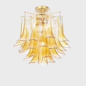 Sogni di cristallo è un ecommerce leader nella vendita online di lampadari in vetro artistico di murano. Plafoniera Fiordaliso Plafoniera Illuminazione Soffitto Lampade In Vetro
