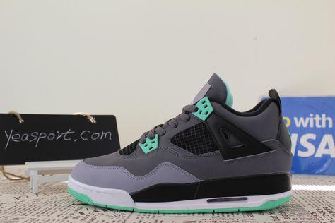 2b5fb0ab58ac69 Air Jordan 4 Retro Green Glow GS