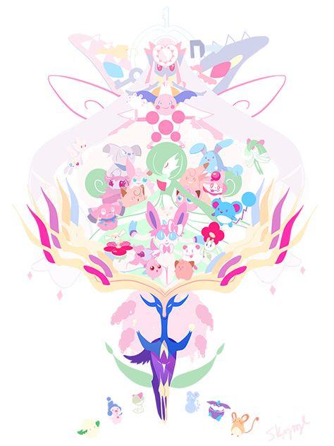 dizzieskizze:  Fairy Type Pokemon