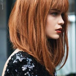 Pin By Maali On Photography With Images Modern Bob Hairstyles Angled Bob Hairstyles Bob Hairstyles With Bangs
