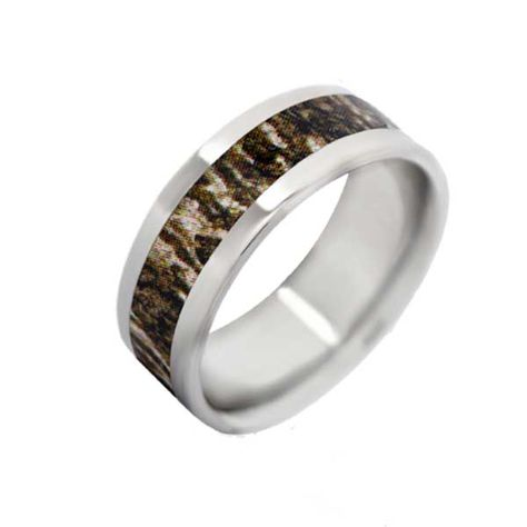 8mm Mossy Oak Camo Rings /& Camo Wedding Rings