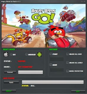 Angry Birds Go Hack How To Get Unlimited Gems And Coins Angry
