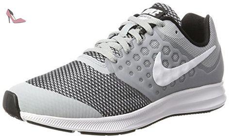 Nike Downshifter 7 (GS), Chaussures de Running Mixte Enfant, Gris ...