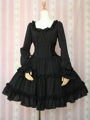 Lace-up Doll Dress