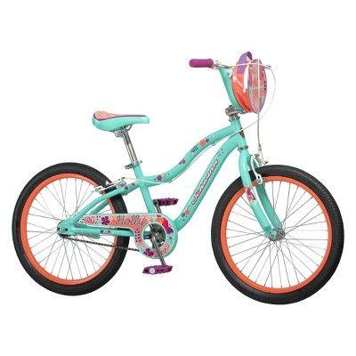 Schwinn Holly 20 Kid S Sidewalk Bike Mint Green Schwinn Bike Bicycle